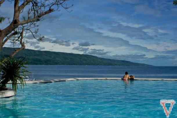 La piscine sur l'ile de Sumilon