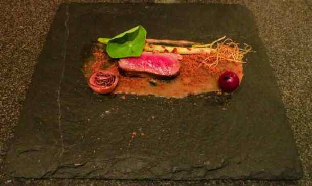 Liberty Private Works Boeuf Wagyu, Oignon, Chanterelles et Sherry