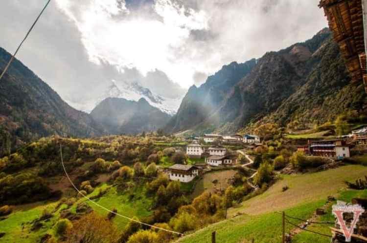 le village de Yubeng