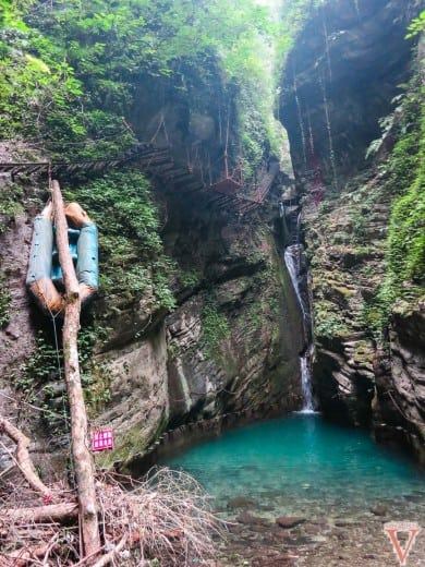 zhuolong gorge