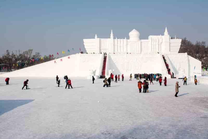 Harbin festival de glace