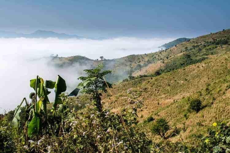 montagnes nord du laos