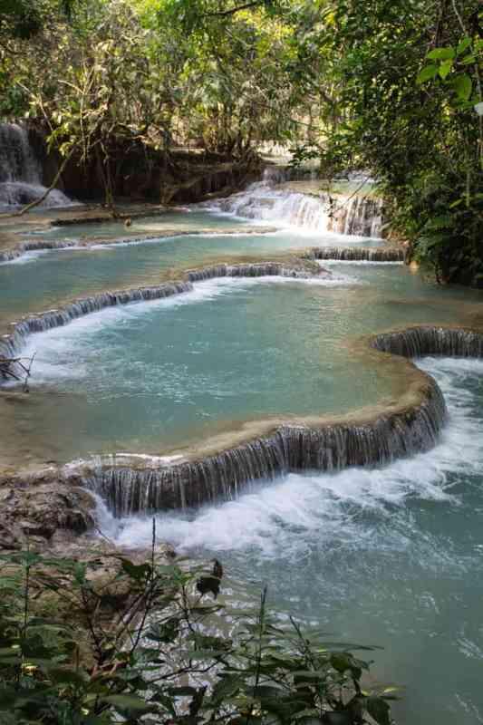 Les chutes de kuang si luang prabang