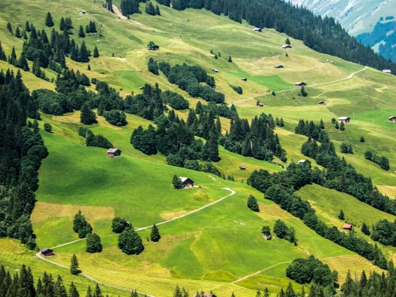 adelboden randonnée en Suisse