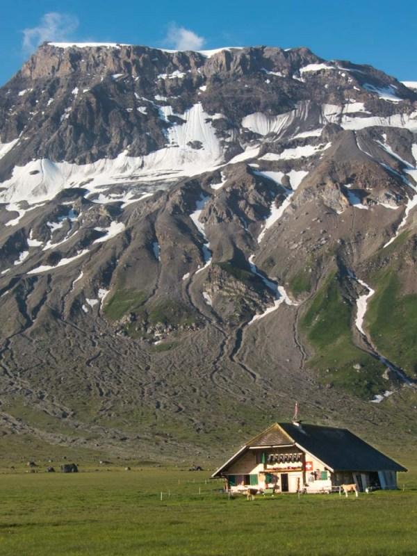alpages d'Engstligenalp randonnée en Suisse