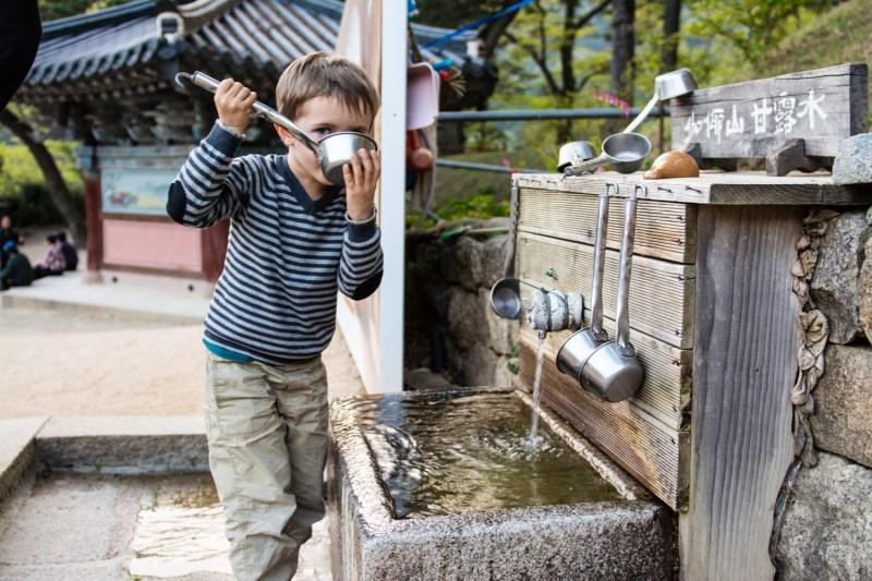 enfants templestay haeinsa