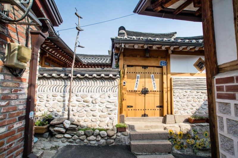 hanok seoul coree