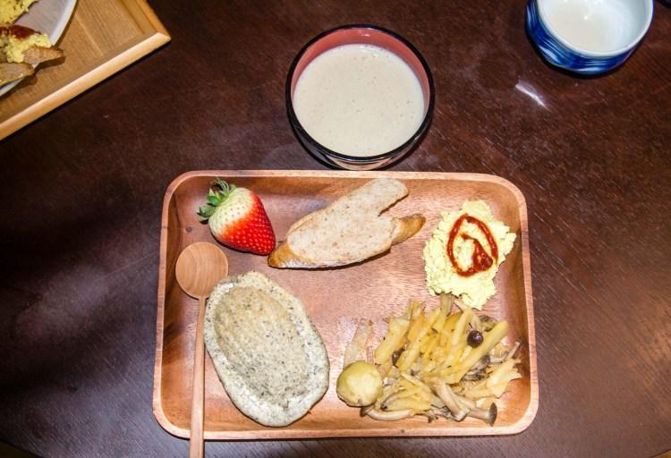 Petite déjeuner végétalien des enfants... DELICIEUX