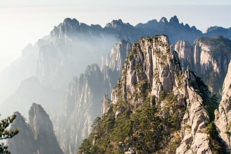 montagnes jaunes Huangshan
