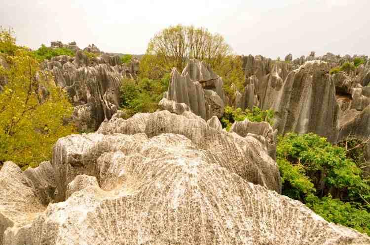 Kunming forêt de pierres