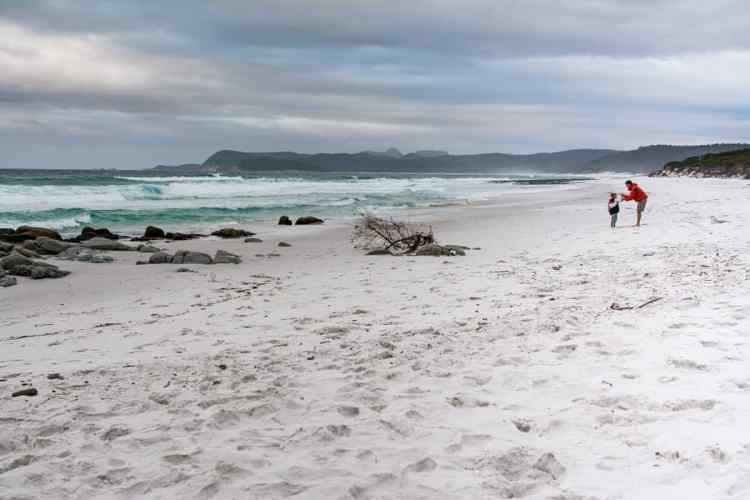 friendly beach tasmanie freycinet
