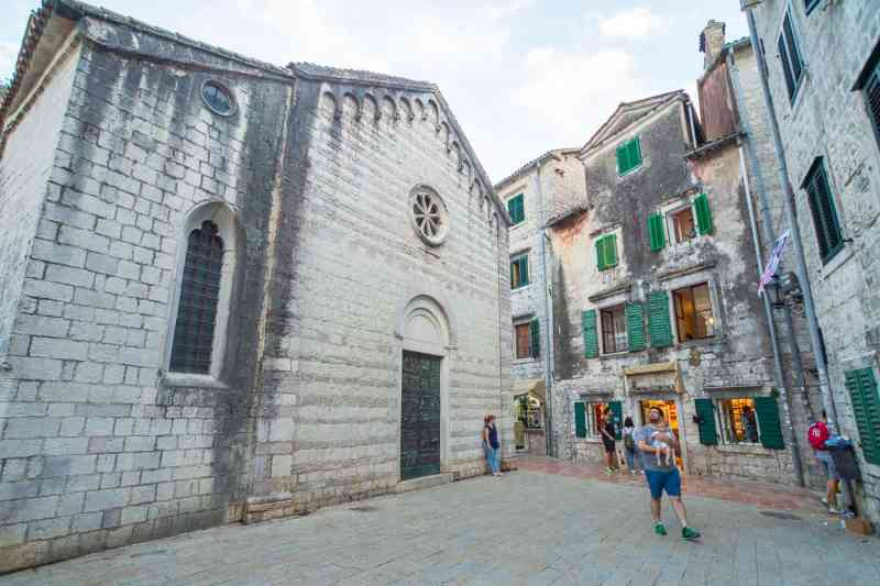 la vielle ville de Kotor