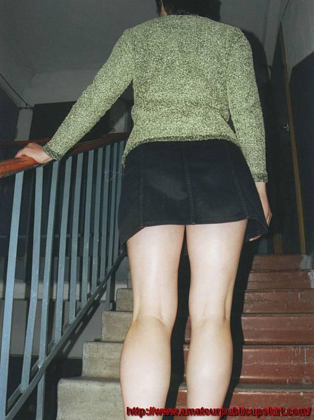 Public Stairs Upskirts-7401