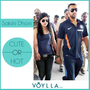 Sakshi Dhoni CUTE or HOT