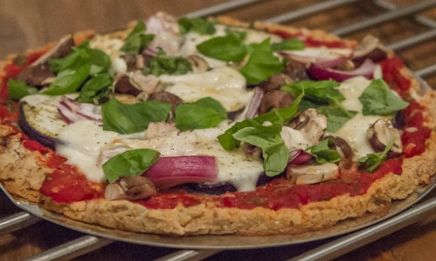 Veckans Recept – Hemmagjord pizza på grillen