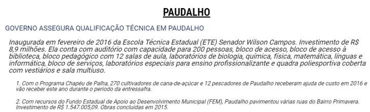 paudalho