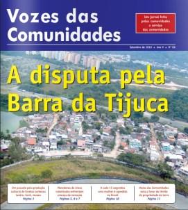 Jornal Vozes das Comunidades 2010