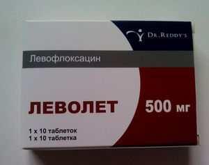 Леволет или левофлоксацин что лучше