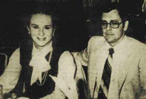 Claudia Mijangos y su esposo Alfredo Castaños