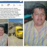 Desaparece trailero sanjuanense, familia pide ayuda para localizarlo