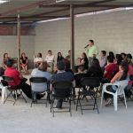 Vecinos de El Pueblito reciben a Astudillo y le dan su apoyo en Corregidora