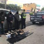 Policía Federal detiene a maleantes en San Juan del Río