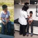 Familiar abandona a niño de 10 años en la México-Pachuca