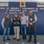 Enrique Vega entregó unidades y equipo de rescate a PC de El Marqués