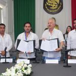 Se hermanan municipios de El Marqués, Querétaro y Progreso, Yucatán