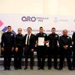 Juan Carlos Linares asiste a Graduación de Elementos Policíacos de Peñamiller