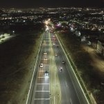 Iluminan más de 7 kilómetros del libramiento Sur Poniente en Corregidora