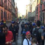 Balacera cerca de Palacio Nacional deja 4 personas muertas, entre ellas el agresor