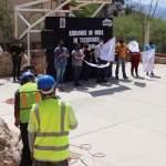 Alcalde Juan Carlos Linares da inicio a más obras en comunidades peñamillerenses