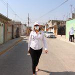 Lupita Pérez se compromete con habitantes de Los Ángeles y La Presa, Ezequiel Montes