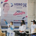 Avanza Vero Hernández en comunidades de Amealco