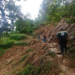 Piden prudencia al transitar por camino en comunidad pinalense