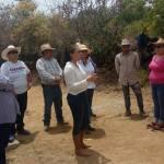 Tere Carrillo: con buen recibimiento y aceptacion de los pobladores