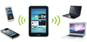 Modalità modem per tablet