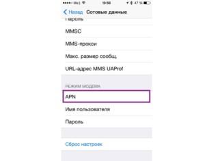 Vizualizarea parametrilor de pe iPhone