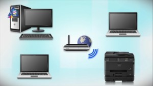 Распечатка документов возможна через беспроводную сеть