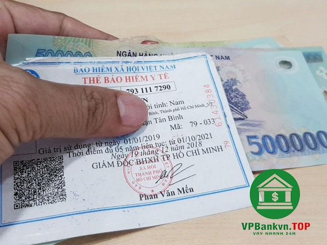 vay tín dụng bằng thẻ bảo hiểm y tế