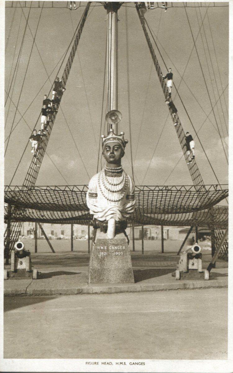 HMS Ganges Vintage Postcards