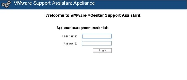 vcenter support assistant 5.5 - 16