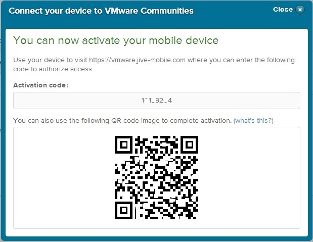 VMTN Community on Phone 5