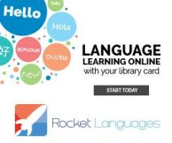 Language Learning Online with your library Card, Start Now, Rocket Languages