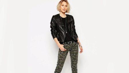 Камуфляжные джинсы (60 фото): с чем носить, женские ...