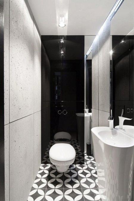 Дизайн туалета 2 кв. м без ванной (47 фото): особенности ...
