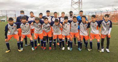 Los seleccionados provinciales debutaron en el torneo oficial de la liga de futbol