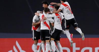 River ganó 2 a 1 a Santa Fe de Colombia y se puso al frente de su grupo en la Libertadores