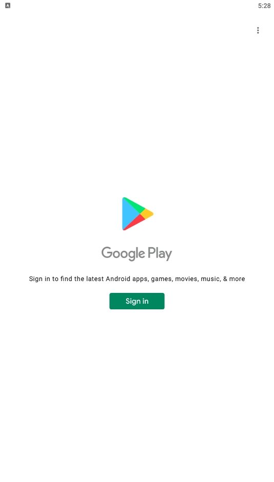Google Play Step 1